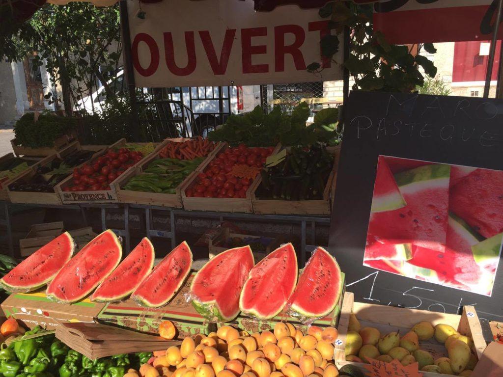 Photo marché Oraison